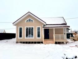Каркасный дом 7,5х9 СНТ Колос 4