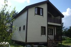 Каркасный дом 7х8,5 Модолицы 1