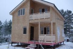 Каркасный дом 7х8,5 Модолицы 20