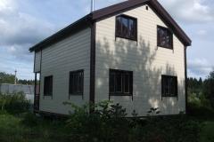 Каркасный дом 7х8,5 Модолицы 4