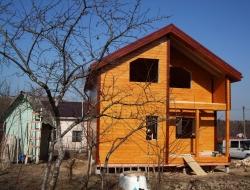 Каркасный дом 7х8,5 СНТ Отрада 2