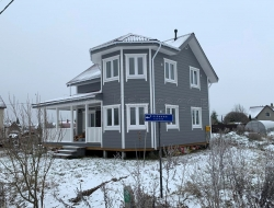 Каркасный дом 8х9,5 Вертикаль 3