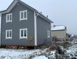Каркасный дом 8х9,5 Вертикаль 5