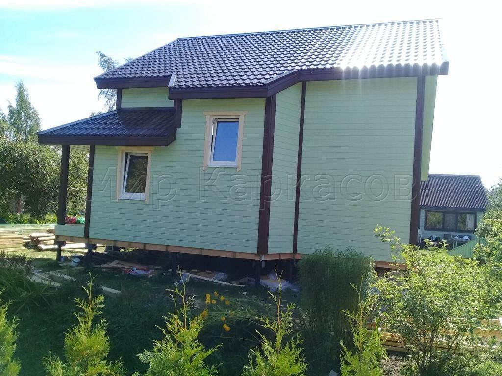Каркасный дом 9х11,5 Псковская область 4