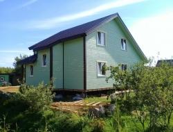 Каркасный дом 9х11,5 Псковская область 5