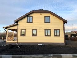 Каркасный дом 9х11 село Губарево 4