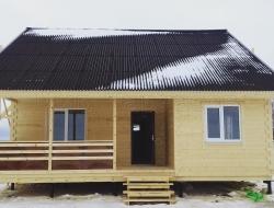 Каркасный дом 9х9,5 Лупаково 3