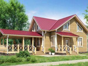 Каркасный дом «БРЮССЕЛЬ» 9Х9