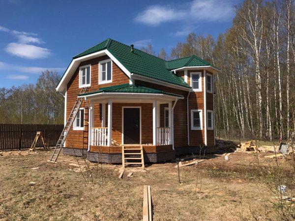 Каркасный дом под ключ в Тверской области