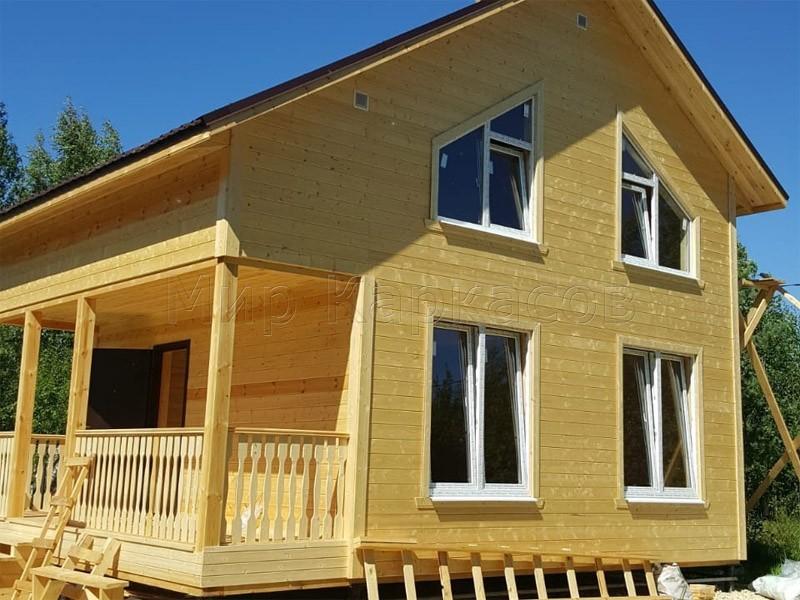 Строительство дома в Гатчинском районе