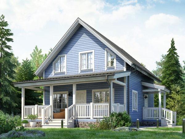 Каркасный дом «ХАНКО»