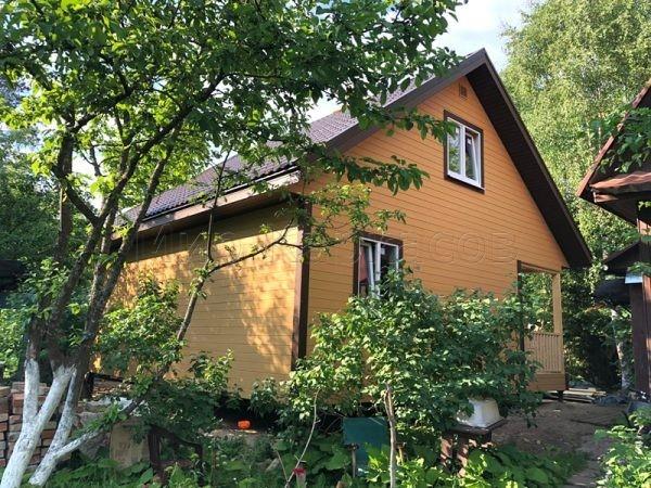 Каркасный дом 8х8 поселок Рощино
